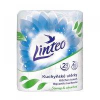 LINTEO Kuchynské utierky 2-vrstvové 2x10 m