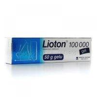 LIOTON gel 100 000 gel tuba Al 50 g