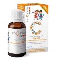LIPO C ASKOR Junior tekutý lipozomálny vitamín C 110 ml