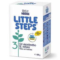 LITTLE STEPS 3 Pokračovacia mliečna výživa 600 g