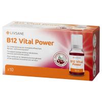 LIVSANE B12 Životná sila roztok v ampulkách 10 x 10 ml