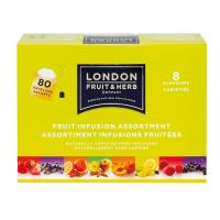 LONDON FRUIT & HERB Zmes ovocných čajov 8 x 10 vrecúšok
