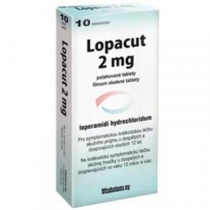 LOPACUT 2 mg tablety 10 ks