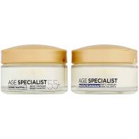 L´OREAL Age Specialist 55+ Duopack denný + nočný krém 2x 50 ml