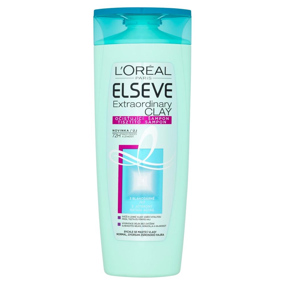 L'ORÉAL Elseve Extraordinary Clay šampón 400 ml