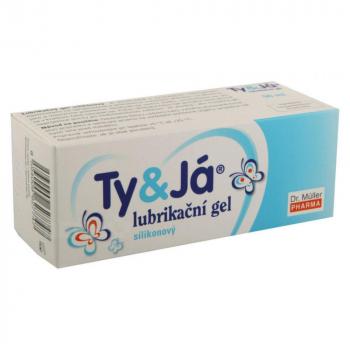 Dr Müller Lubrikačný gél Ty + Ja silikonový 50 ml