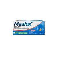 MAALOX 40 žuvacích tabliet
