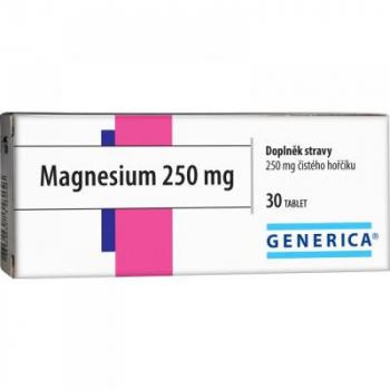 Generica Magnesium 250 mg 30 tabliet