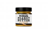 BEAR FOOT Peanut Butter, arašidový krém s bielou čokoládou a kúskami arašidov, 250 g