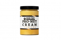 BEAR FOOT Pro-Nut Cream, arašidové maslo s proteínom, vanilka, 550 g 08.07.2021
