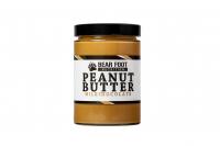 BEAR FOOT Peanut Butter, jemný arašidový krém s mliečnou čokoládou, 550 g