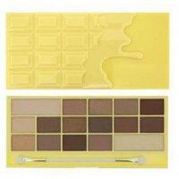 Makeup Revolution Zázračná paletka očných tieňov Biela čokoláda