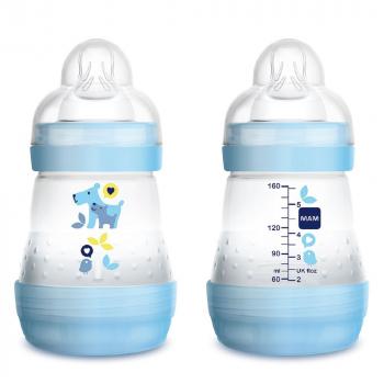 MAM AntiColic Detská fľaša 0+ mesiacov 160 ml