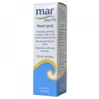 MAR PLUS 5% nosový sprej 20 ml