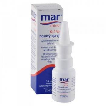 MAR RHINO 0,1% nosový sprej aer nao 1x15 ml