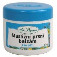 DR. POPOV Masážny prsný balzam pre deti 50 ml