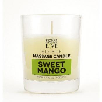 HRISTINA Masážna sviečka mango 100 ml