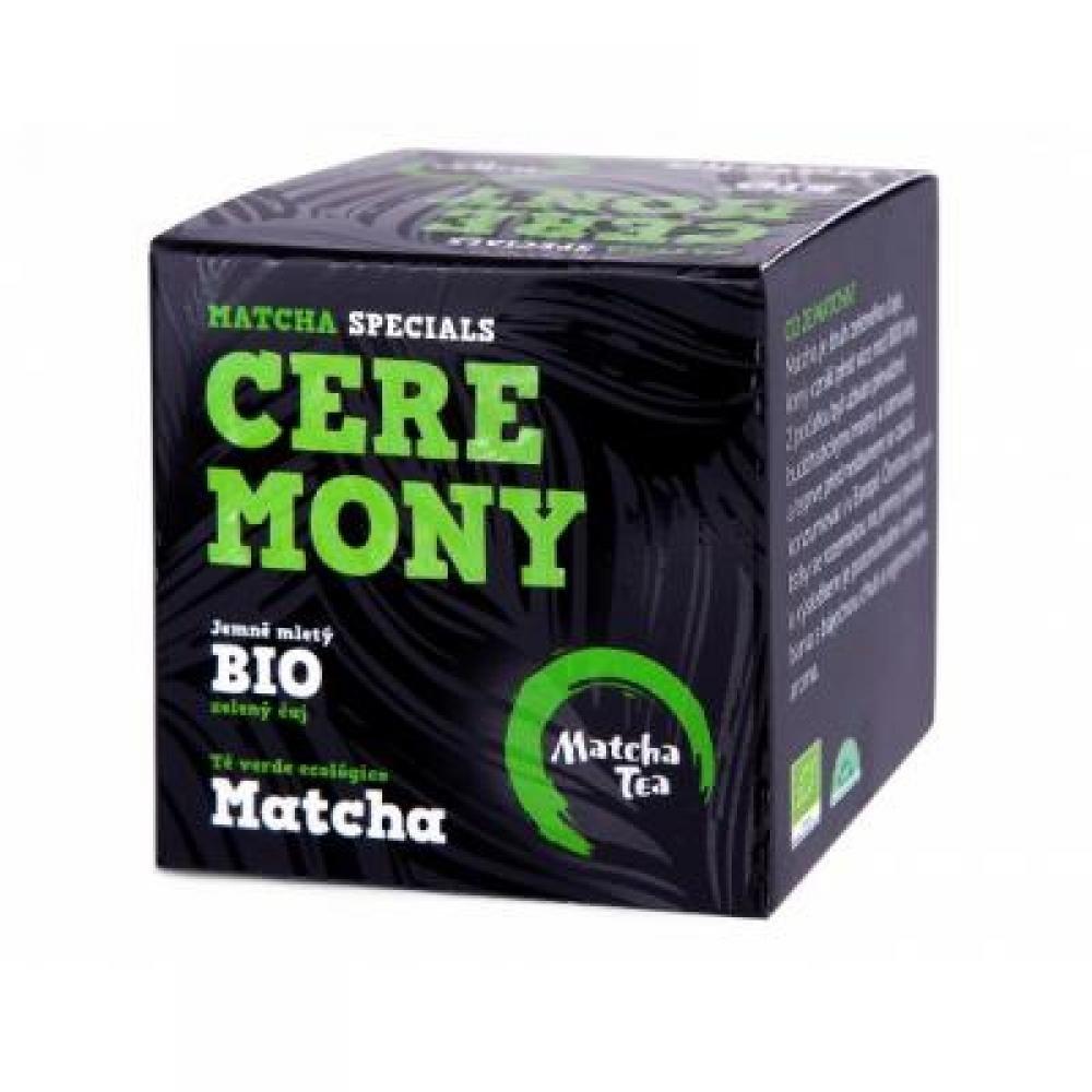 ČAJOVÁ KVĚTINA Matcha Tea Ceremony jemne mletý zelený čaj BIO 30 g