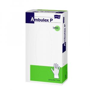 MATOPAT Ambulex P rukavice latexové nepudrované S 100ks