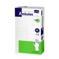 MATOPAT Ambulex rukavice latexové jemne pudrované M 100 kusov