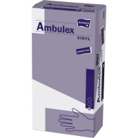 MATOPAT Ambulex Vinyl rukavice vinylové nepudrované S 100 kusov