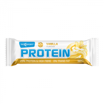 MAXSPORT Proteínová tyčinka s príchuťou vanilky 60 g