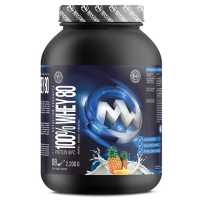 MAXXWIN 100% Whey protein 80 ananás 2200 g