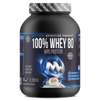 MAXXWIN 100% Whey protein 80 cappucino 2200 g