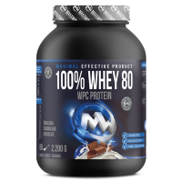 MAXXWIN 100% Whey protein 80 čokoláda 2200 g