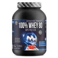 MAXXWIN 100% Whey protein 80 divoká malina 2200 g
