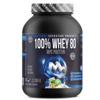 MAXXWIN 100% Whey protein 80 pistácie 2200 g