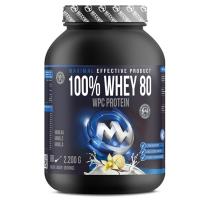 MAXXWIN 100% Whey protein 80 vanilka 2200 g