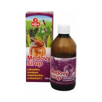 PURUS MEDA Medový sirup skorocel + tymián + materina dúška+ vitamín C 100 g