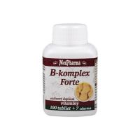 MEDPHARMA B-Komplex Forte 100+7 tabliet zadarmo