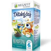 MEGAFYT Detský čaj bez kofeínu 20 x 1.75 g