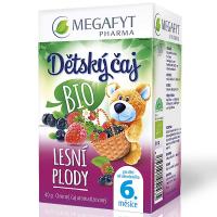MEGAFYT Detský čaj lesné plody BIO 20 x 2 g