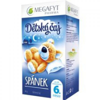 MEGAFYT Detský čaj - spánok 20 x 2 g
