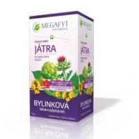 MEGAFYT Čajová zmes pečeň nálevové sáčky 20 x1,5 g