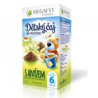MEGAFYT Detský čaj bez kofeínu s anízom 20x1,75 g