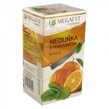 MEGAFYT Ovocny medovka, pomaranc 20 x 2 g