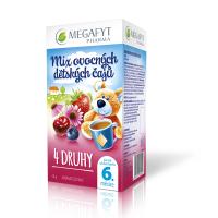 Megafyt MIX ovocných detských čajov 20x2g