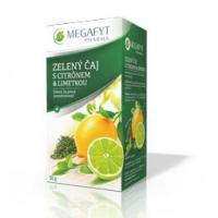 MEGAFYT Zeleny caj citron 20 x 1,5 g