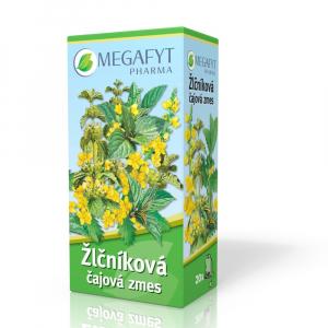 MEGAFYT Žlčníková čajová zmes záparové vrecúška 20x1,5 g