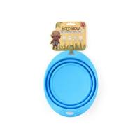 BECO Bowl Travel EKO Cestovná miska pre psov modrá M