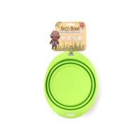 BECO Bowl Travel EKO Cestovná miska pre psov zelená L