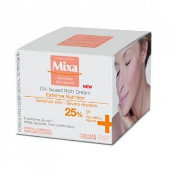 MIXA Olejový krém 25% 50 ml
