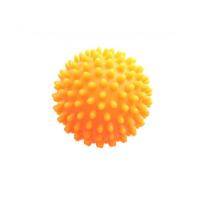 MODOM Masážna loptička ježko oranžový 7 cm
