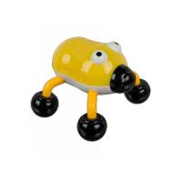 MODOM Masážny vibračný chrobák žltý