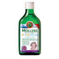 MÖLLER´S Omega 3 Môj prvý rybí olej 250 ml