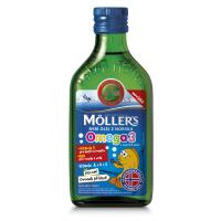 MÖLLER'S Omega 3 ovocná príchuť 250 ml